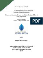 10, BE & GG, Yudiansyah,Hapzi Ali, Corporate Social Responsibilities, Universitas Mercu Buana, 2019