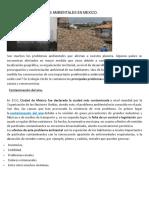 Articulo Problemas Ambientales en Mexico.