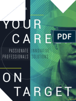 Your Career on Target Brochure