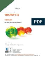Transyt 16 User Guide
