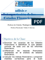 Analisis e Interpretacion de Los Estados Financieros-Clase 3