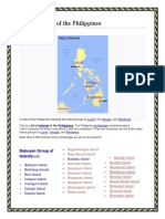 list of islands in philippines