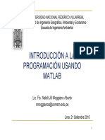 Introduccion a Matlab-sesion 2
