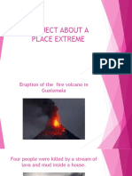 Project About a Place Extreme