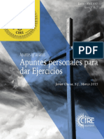 Apuntes Personales sobre los ejercicios de San Ignacio de Lyola