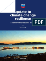 Update to Climate Change Resilience