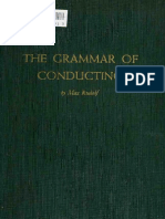 The Grammar of Conducting; A Practical Study of Modern Baton Tec