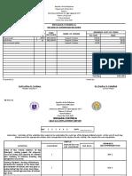 Brigada Eskwela Forms for Teachers AAGutierrez