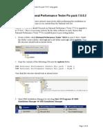 IBM Rational Performance Tester Fix Pack 7.0.0.2