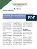 Hipotensión ortostatica