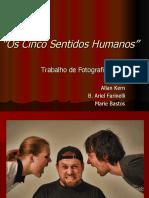 Os Cinco Sentidos Humanos