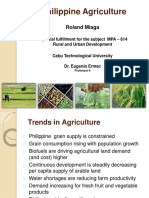 Trend of Philippine Agriculture - Report
