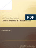 Case of Krishna Godhavari Basin