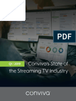 Conviva Q1 2019 State of the Streaming TV Industry Report