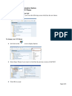 SAP GUI Theme Change Instructions