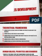 Values Development - L3