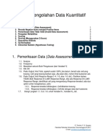Prosedur Analisis Data Kuantitatif