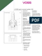 Product Description Quick Connect System 246