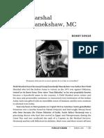 Sir Manekshaw