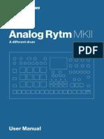 Analog Rytm MKII User Manual ENG