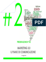 #2. Marketing 3.0 e Il Piano Di Comunicazione