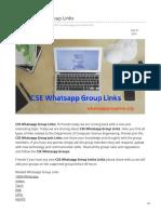 Whatsappgrouplink.org-CSE Whatsapp Group Links