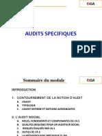 Audits Specifiques