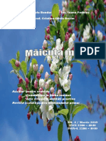 """Revista """"Măicuța Mea"""" Ediția a IV a Martie 2019"""