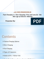 Charging Of EVs