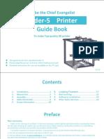 User Manual Ender-5 En