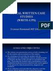 Medical Write Ups PPT Revised 4-20-10 2