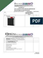 FISA TEHNICA Nr.7- Sterilizator Cu Raze Uv