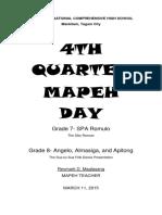 Mov 4th Quarter Mapeh Day