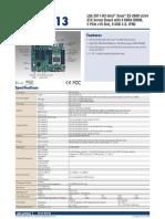 Industrial motherboard server