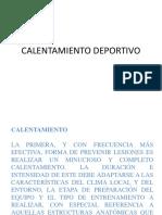 CALENTAMIENTO DEPORTIVO