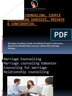Marriage Counseling, Couple Counselling Services