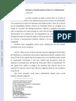 """""""Opiniones individuales y actitudes políticas frente a la redistribución"""