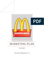 Marketing Plan in McDonalds Philippines