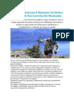 Acerte Na Nutrição E Minimize Os Efeitos Da Altitude Nas Corridas de Montanha