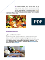 Alimentos Vegetales y Animales