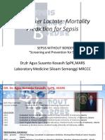 Biomarker Lactate (Dr Agus Kosasih SpPK)