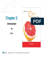 SOW_C++_CSO_Chapter_02_9e - Introduction to C++