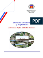SAO Report2010-02 MaguindanaoProv