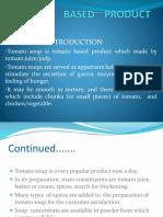 Tomato Based Product