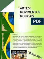 MOVIMENTOS MUSICAIS