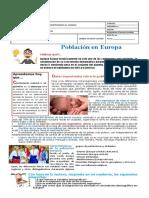Guía sobre población en Europa