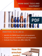 SMAW Tools and Equipment and Its Uses