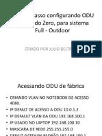 Configurando ODU Alcatel Full Outdoor BKP SW
