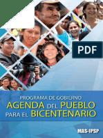 Programa de gobierno del Movimiento al Socialismo (MAS-PSP)