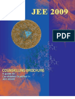 JEE 2009 Counselling Brochure